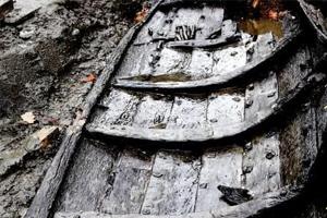 Средневековая лодка