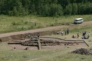 Раскопки в Туве