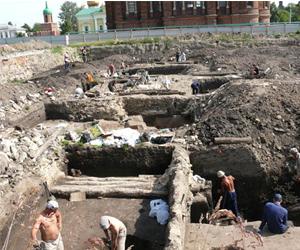 Раскопки в Туле